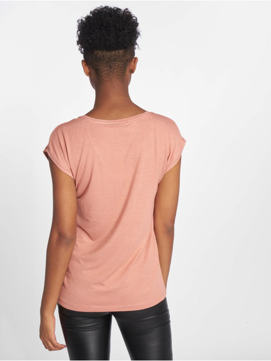 Pieces T-Shirt pcBillo Lurex Stripes rose