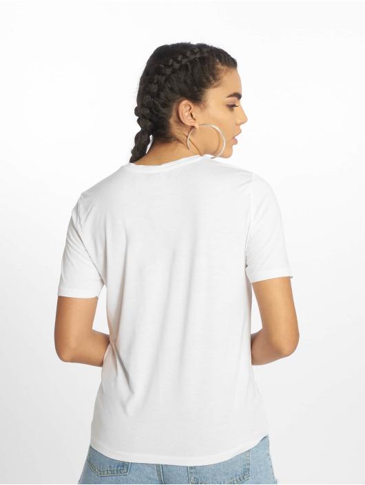 Pieces T-Shirt pcBroklyn weiß