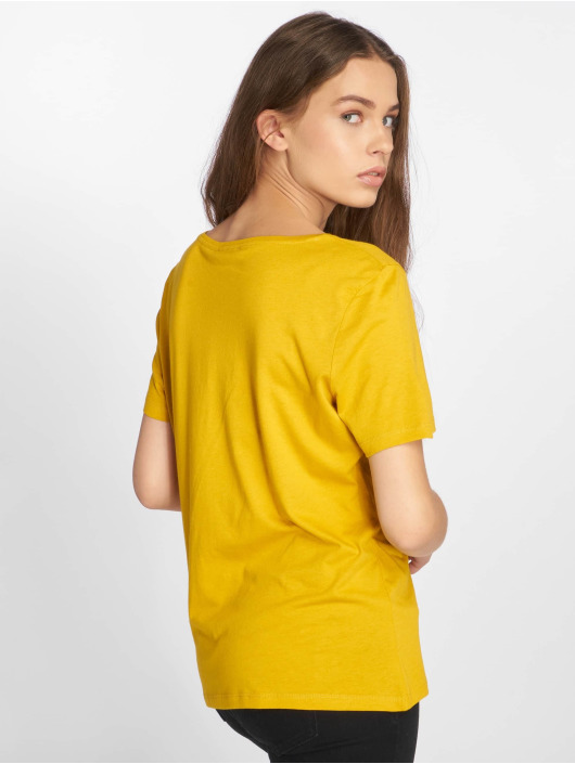 Pieces T-Shirt pcFemme yellow