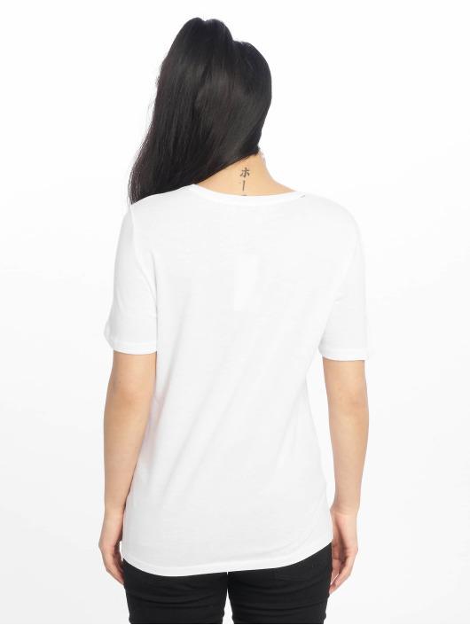 Pieces T-skjorter pcLeah hvit
