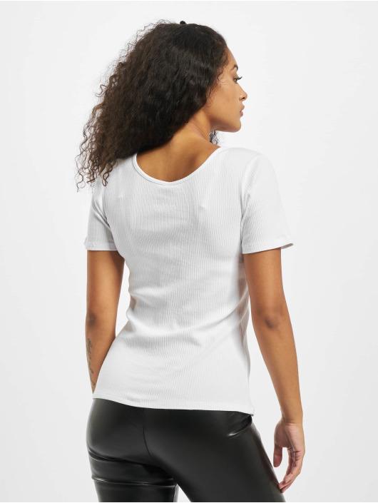 Pieces T-skjorter pcKitte Noos hvit