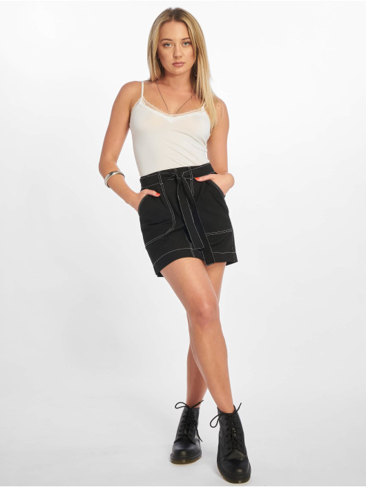 Pieces Top pcKate Lace Singlet weiß