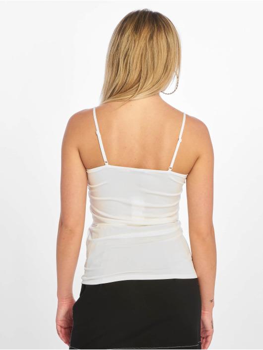 Pieces Topy/Tielka pcKate Lace Singlet biela