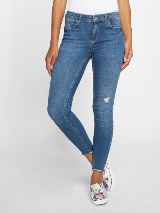 Pieces Tynne bukser pcFive Delly B185 blå