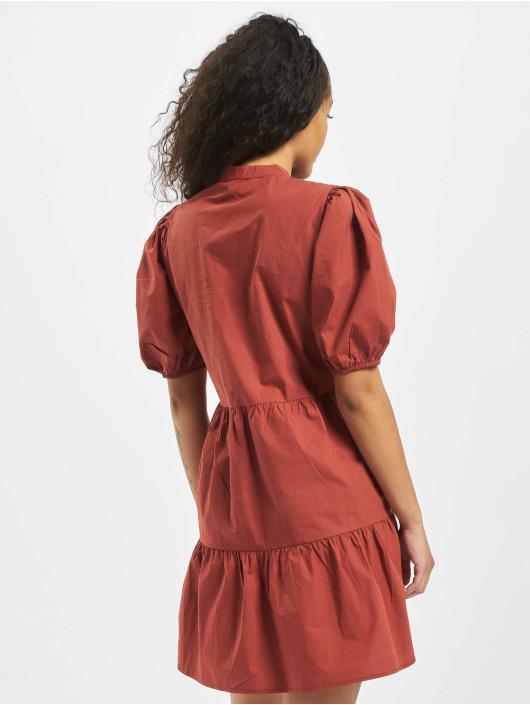 Pieces Vestido pcMarlie 2/4 Elastic rojo