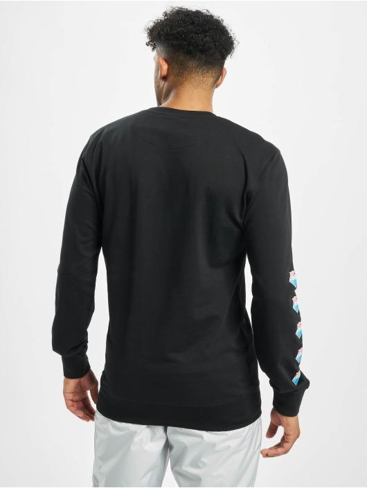 Pink Dolphin Пуловер Logo черный
