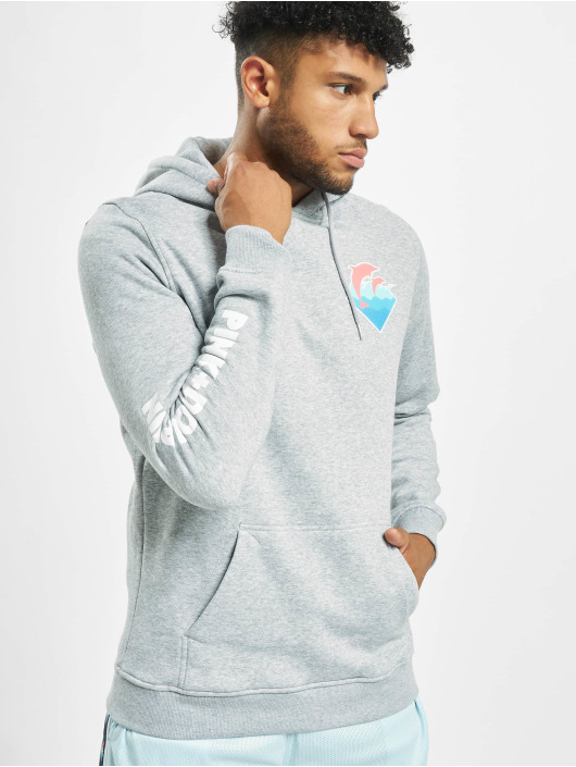 Pink Dolphin Hoodie Logo grey