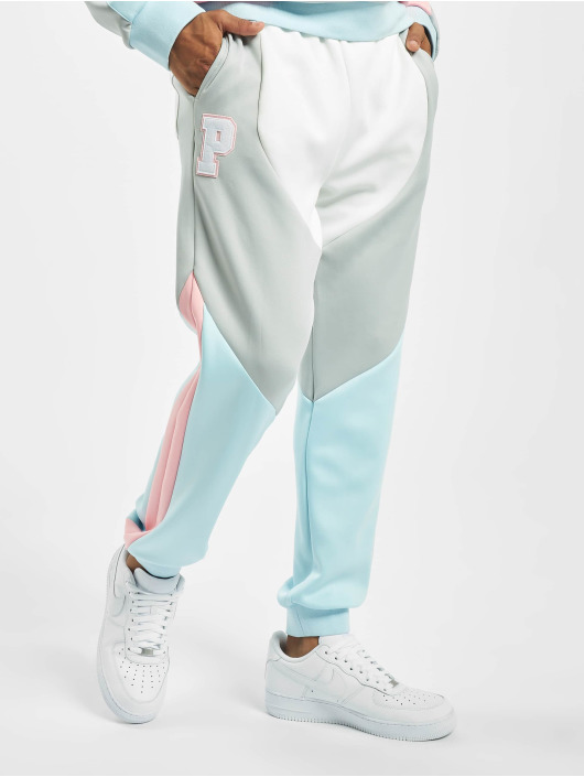 Pink Dolphin joggingbroek Bold wit