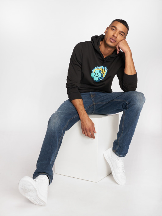Pink Dolphin Sweat capuche Mr Posi Sketch noir