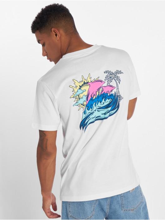 Pink Dolphin T-Shirt Roll Tide blanc