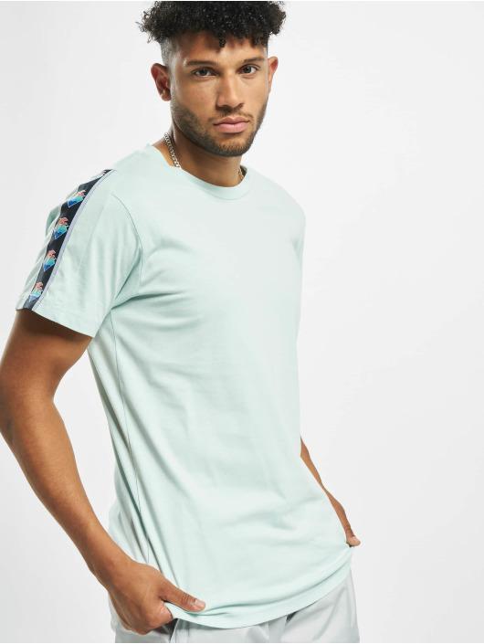 Pink Dolphin T-Shirt Wave Sport blau