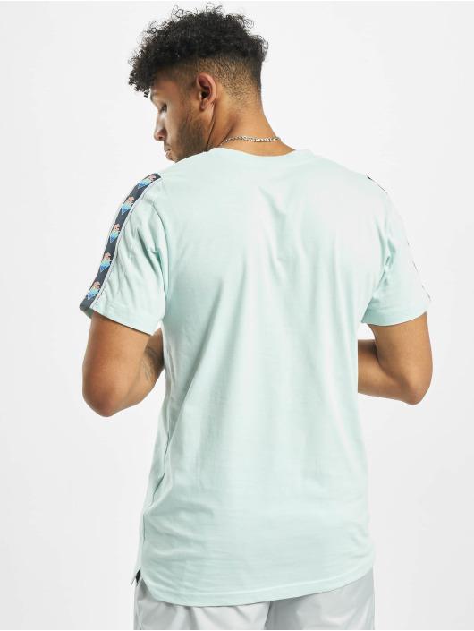 Pink Dolphin t-shirt Wave Sport blauw