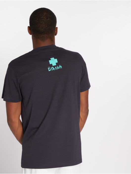 Pink Dolphin T-Shirt Letterbox blue