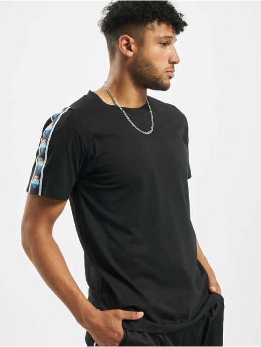 Pink Dolphin T-Shirt Wave Sport noir