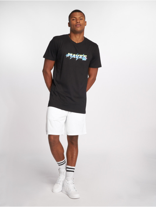 Pink Dolphin T-Shirt Electric Waves schwarz