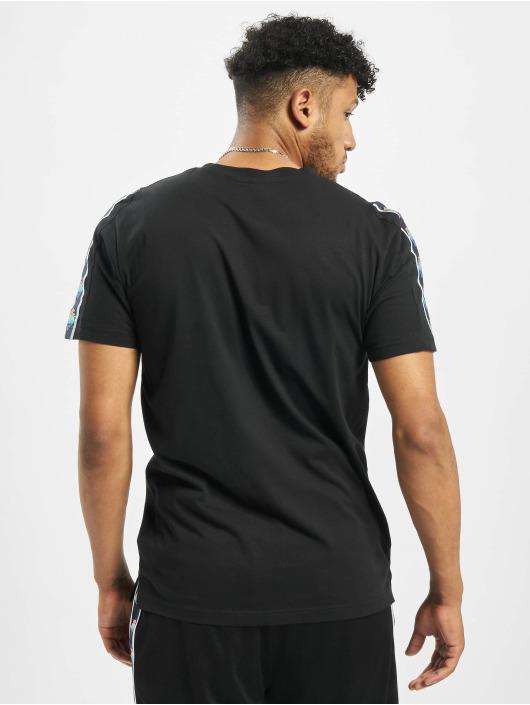 Pink Dolphin T-Shirt Wave Sport schwarz