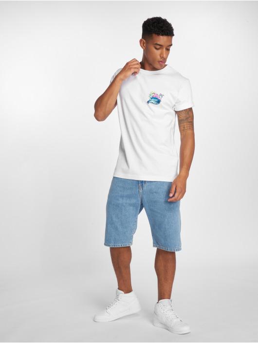 Pink Dolphin T-Shirt Roll Tide weiß