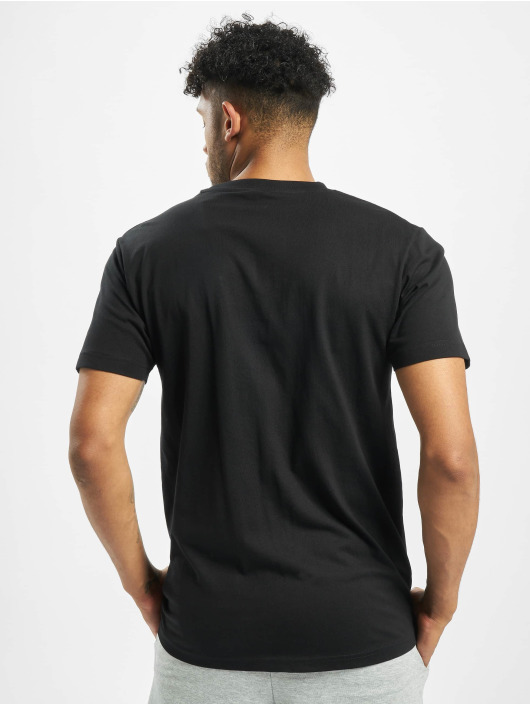 Pink Dolphin t-shirt Logo zwart
