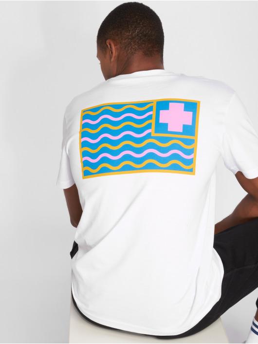 Pink Dolphin T-Shirty Dolphin Pocket P bialy