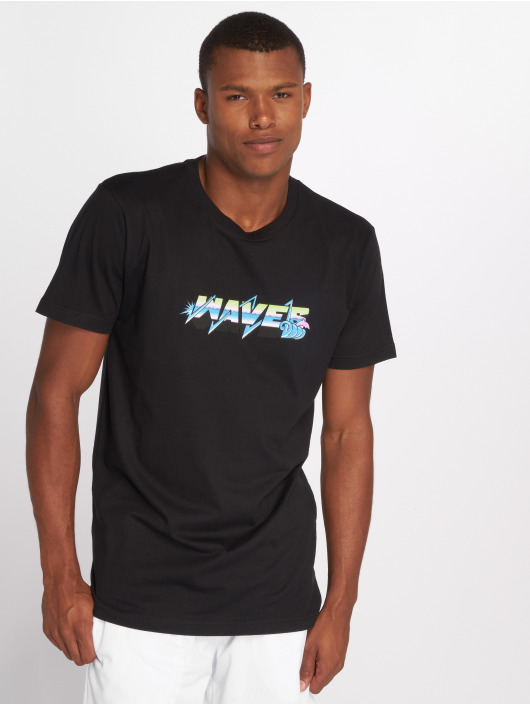 Pink Dolphin T-Shirty Electric Waves czarny