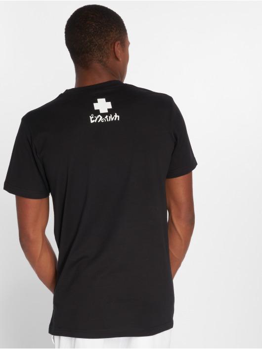 Pink Dolphin T-Shirty Club Crest czarny