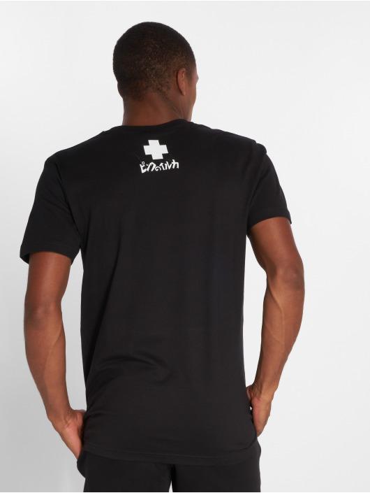 Pink Dolphin T-skjorter Digital Waves svart