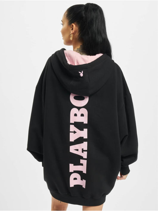 Playboy x DEF Šaty Hoodie èierna