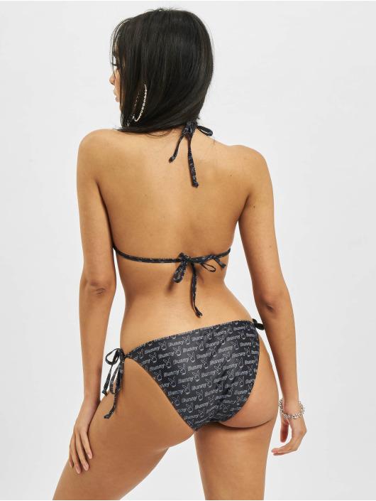 Playboy x DEF Bikini Allover czarny