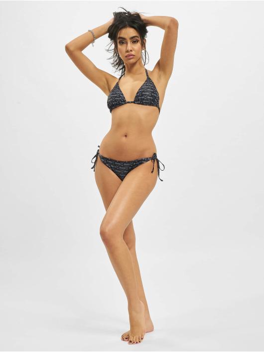 Playboy x DEF Bikinis Allover schwarz