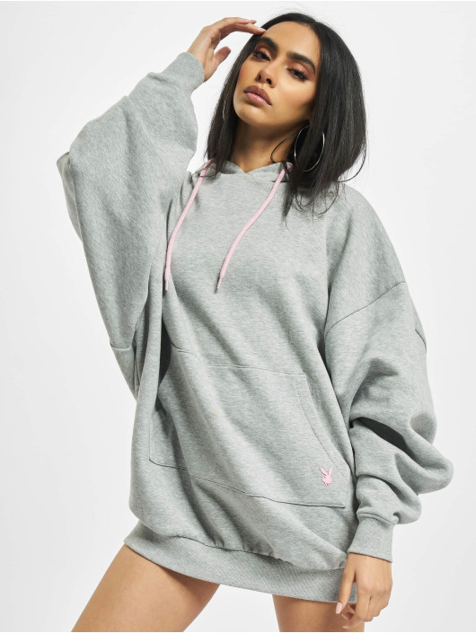 Playboy x DEF Dress Hoodie gray
