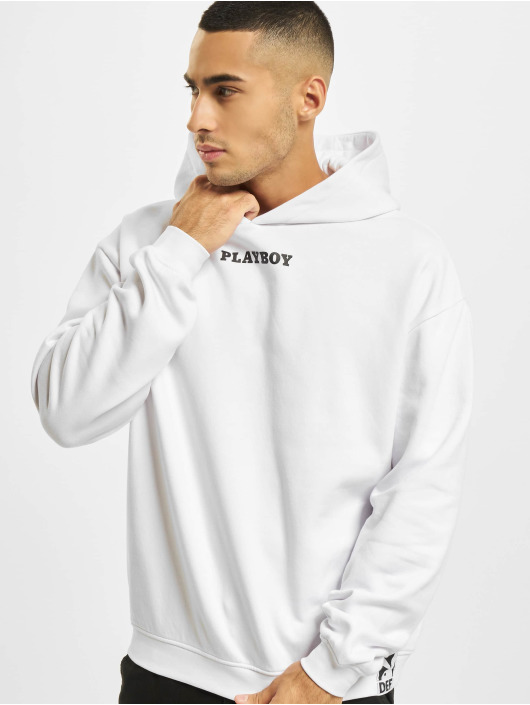 Playboy x DEF Hettegensre Logo hvit