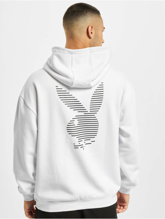 Playboy x DEF Hoodie Logo white