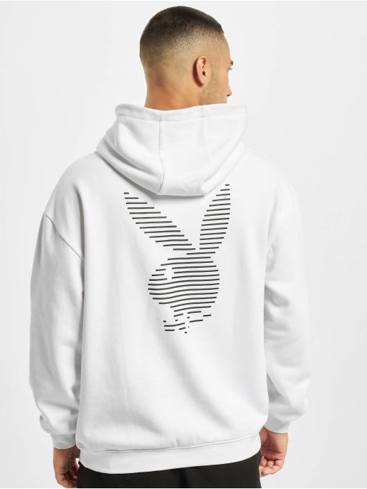 Playboy x DEF Hoody Logo weiß