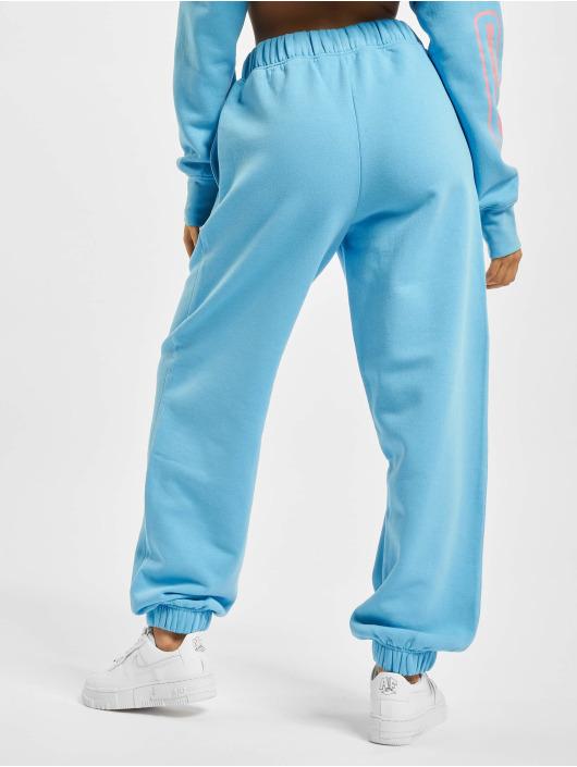 Playboy x DEF Jogginghose Pockets blau