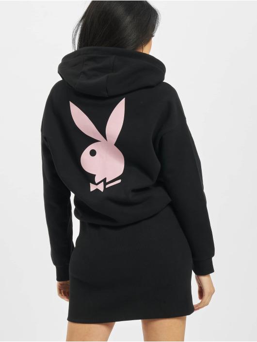 Playboy x DEF Kleid Hoodie schwarz