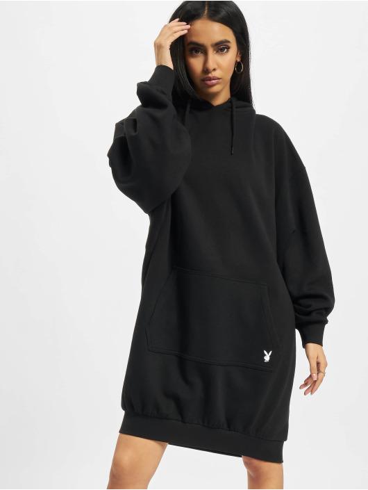 Playboy x DEF Kleid Fleece schwarz