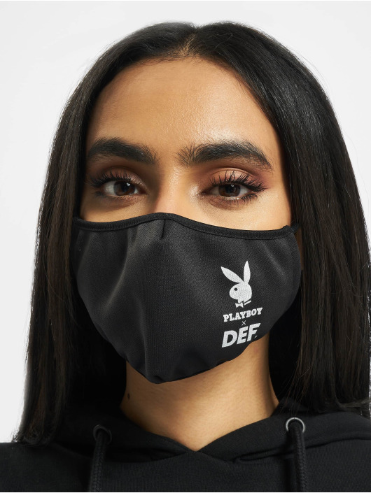 Playboy x DEF Other Face black