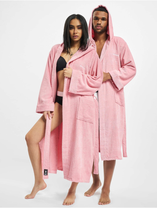 Playboy x DEF Other Bathrobe rosa