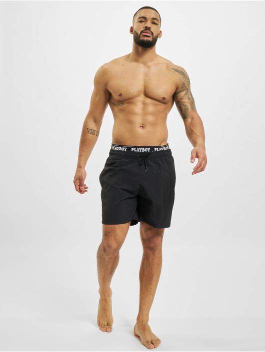 Playboy x DEF Short de bain Swim noir