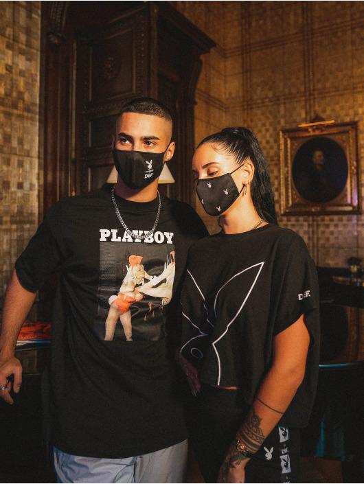 Playboy x DEF Sonstige Face Mask schwarz