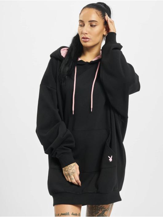 Playboy x DEF Sukienki Hoodie czarny