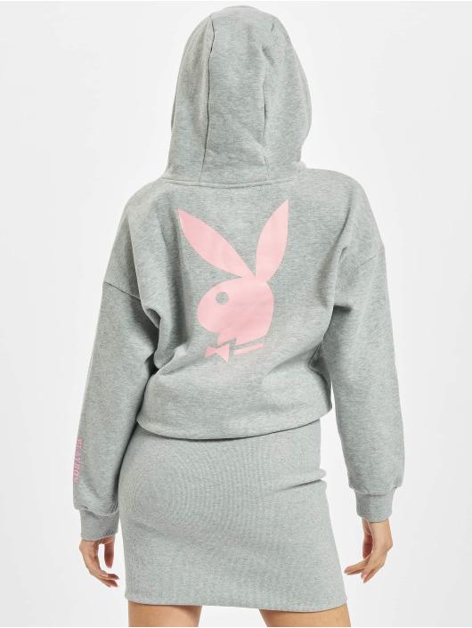 Playboy x DEF Sukienki Hoodie szary
