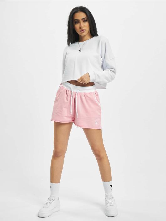 Playboy x DEF Szorty Shorts rózowy