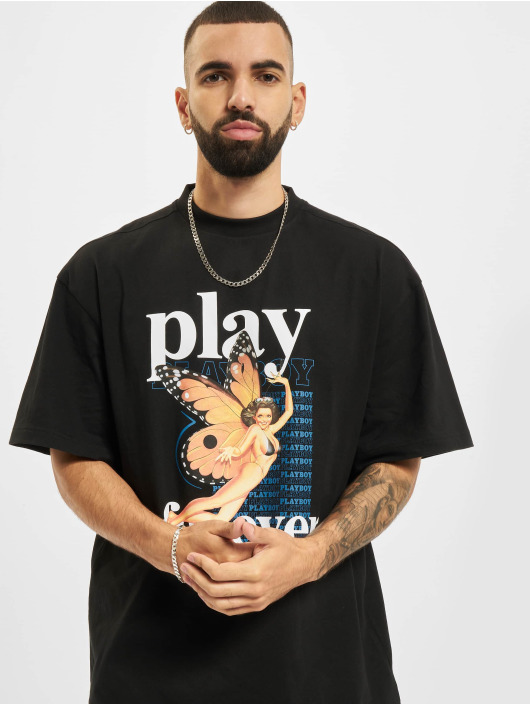 Playboy x DEF T-Shirt Single black