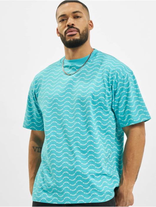 Playboy x DEF T-Shirt Allover blau