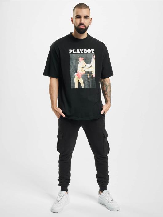 Playboy x DEF T-Shirty Graphic czarny