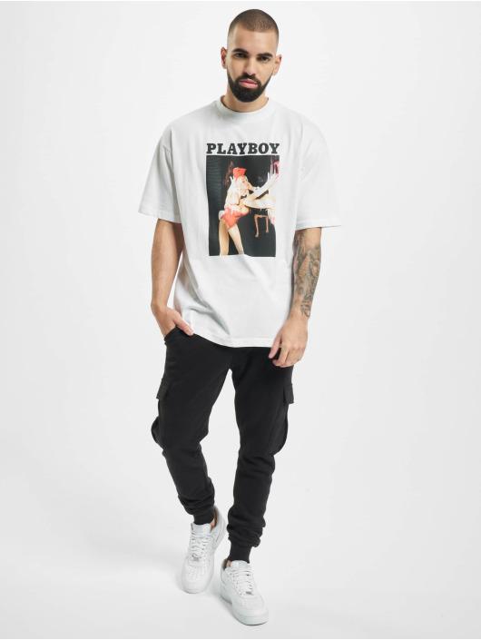 Playboy x DEF T-skjorter Graphic hvit