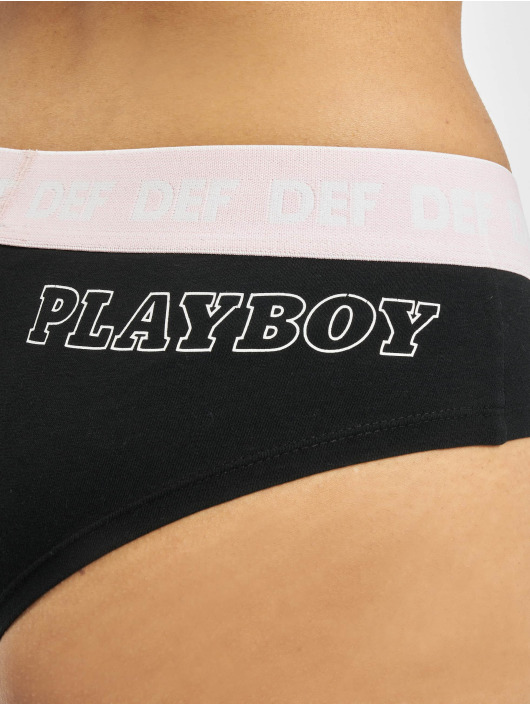 Playboy x DEF Underwear 2er Pack black