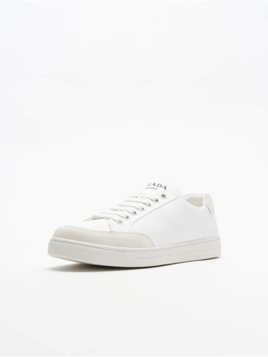 Prada Sneakers Garbadine Scam white