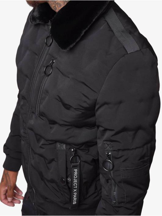 Project X Paris Куртка-бомбардир Bomber черный